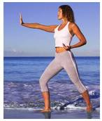 These slow, graceful movements have been shown helpful in improving balance and reducing stress